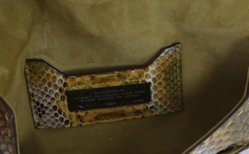 A Mano Borsa Vbh Pelle Busta Indio Pochette Serpente Lucido Di Manila Verde 8FPq1B8