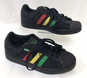 Adidas Superstar Black Hemp Rasta