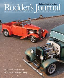 No. 79 RODDER'S JOURNAL Linfords 32 Pickup & Shuten 32 Sedan Cover A