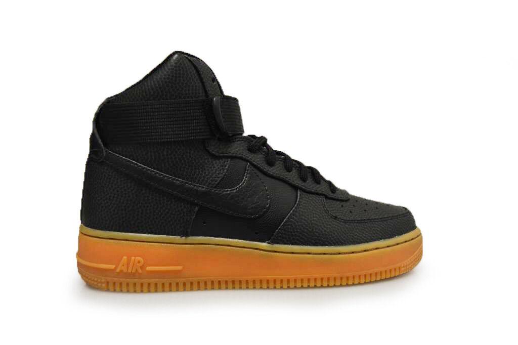 femmes  Nike Air Force 1 High SE - 860544 002 -   noir  Dark  Gris  Trainers