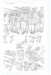CAPTAIN-AMERICA-ORIGINAL-PUBLISHED-ART-PAGE-MARVEL-ADVENTURES-SUPER-HEROES