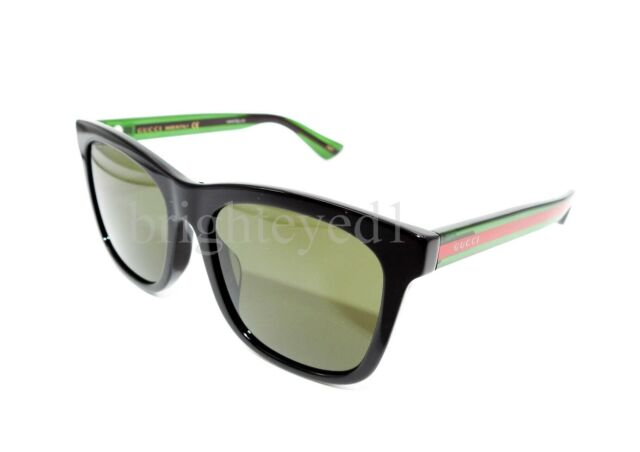 d7596215cc613 Gucci Urban GG 0057sk Sunglasses 002 Black 100 Authentic for sale ...