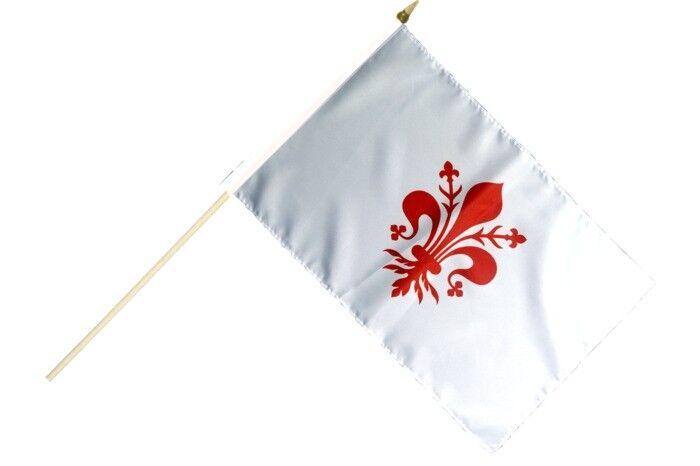 Italien Venedig Republik 697-1797 Stockflagge Flaggen Fahnen Stockfahne 30x45cm