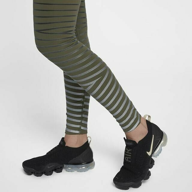 Womens NIKE POWER Epic Lux Flash Reflective Running Tights.  Small 856680-395