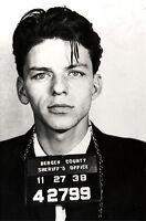 Frank Sinatra Mugshot Bergen County 13 X 19 Photo Print