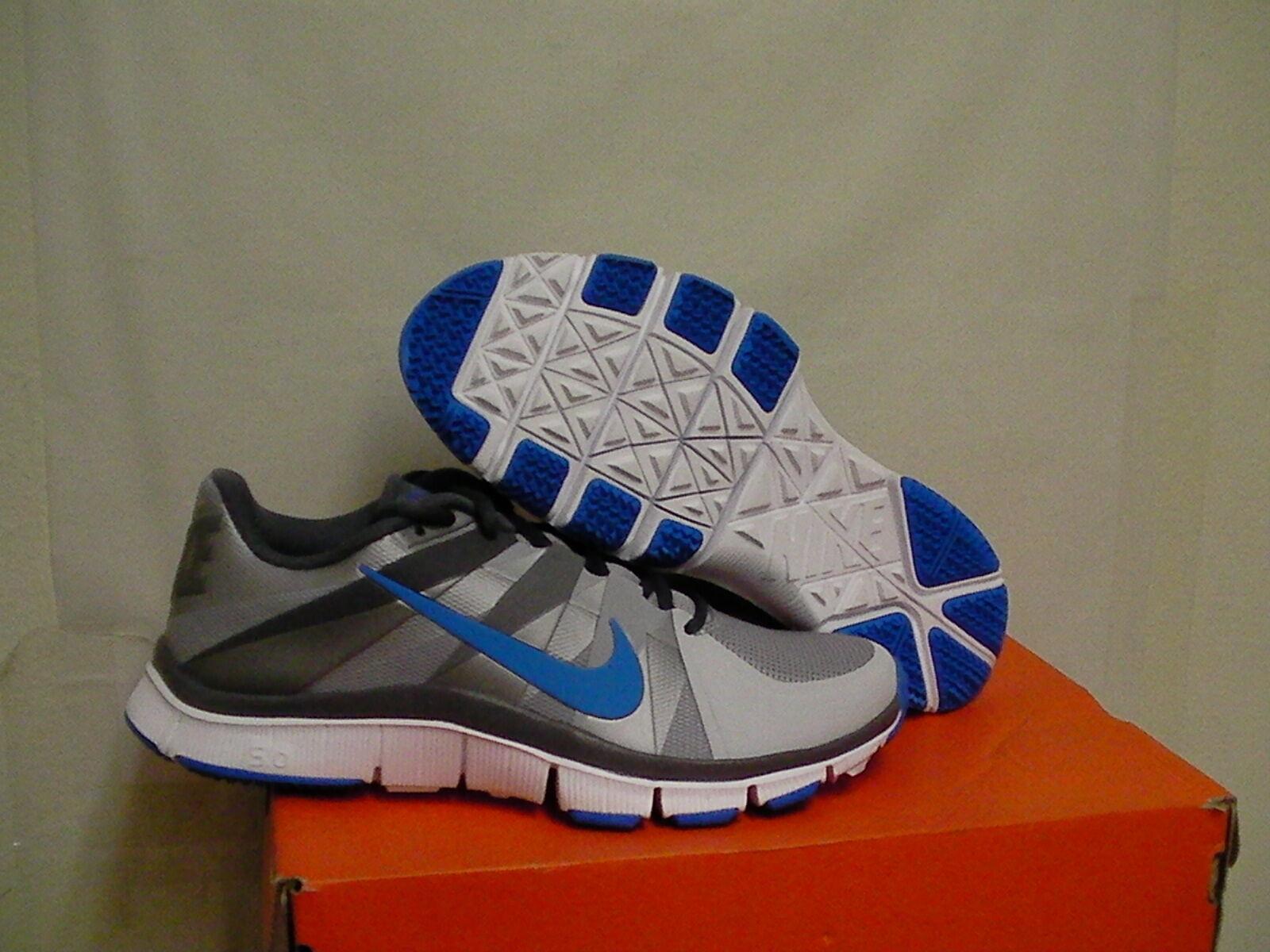 Mens Nike free trainer 5.0 Größe 7.5 us men grau,Blau new with box