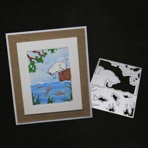 Star Frame DIY Cutting Dies Metal Stencil Scrapbooking Album Paper Card Art Gift