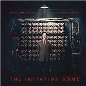 THE IMITATION GAME (original soundtrack, by Alexandre Desplat, CD)