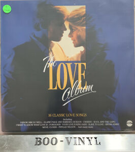 Various-The-Love-Album-Telstar-Vinyl-LP-Compilation-Album-UK-1985