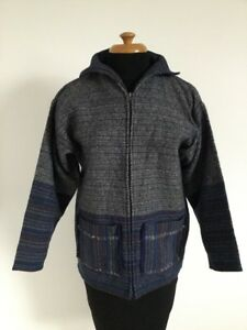 Fab-Ladies-CURLEW-WEAVERS-Welsh-Pure-New-Wool-Jacket-Retro-Country-S