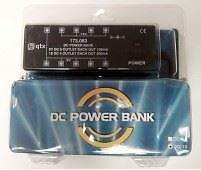 QTX Power Bank Guitar Pedal Power Supply 9v and 18v