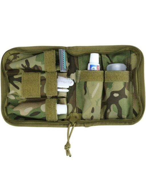 WASH KIT COMPACT TRAVEL OUTDOOR  MULTICAM CARRY CASE - MILITARY, CADETS