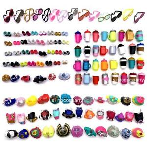 24Pcs-LOL-Surprise-Doll-dress-accessories-6-outfit-6-bottle-6-Glasses-6-shoes