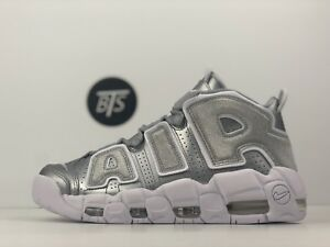 "de1025fb3e47 Women s Nike Air More Uptempo ""Metallic Silver"" Size-8.5 Silver ..."