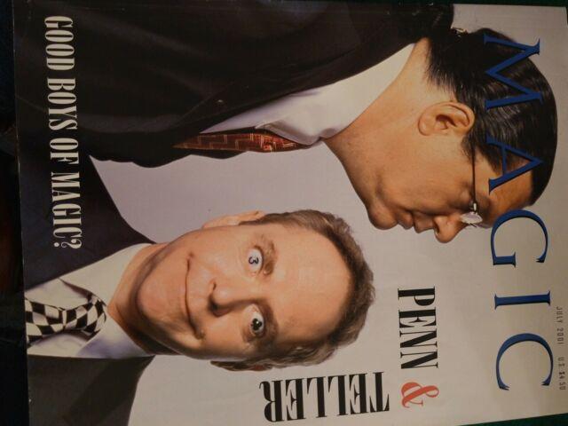 Penn & Teller Issue Magic Magazine 2001 Good Boys of Magic