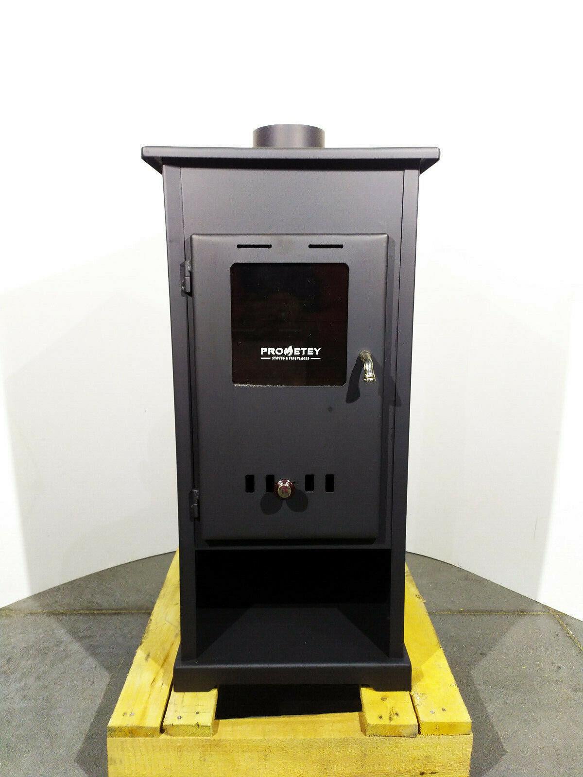 Fabricant Poele A Bois Espagne détails sur chauffage au bois poêle solide carburant cheminée 5 kw d  prometey mini b neuf