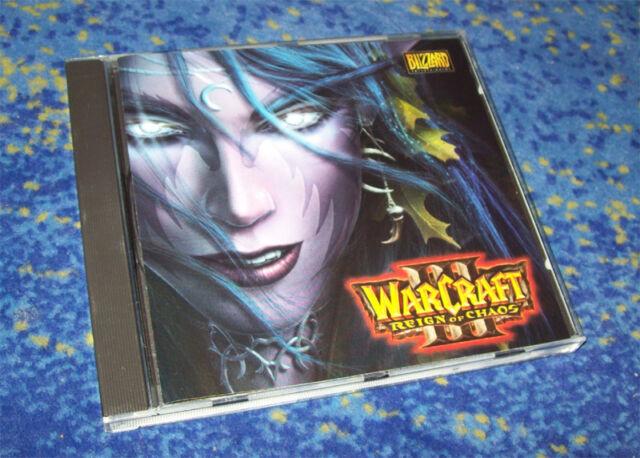 WarCraft III Reign of Chaos PC Spiel Warcraft III neuw. mit Seriennnummer