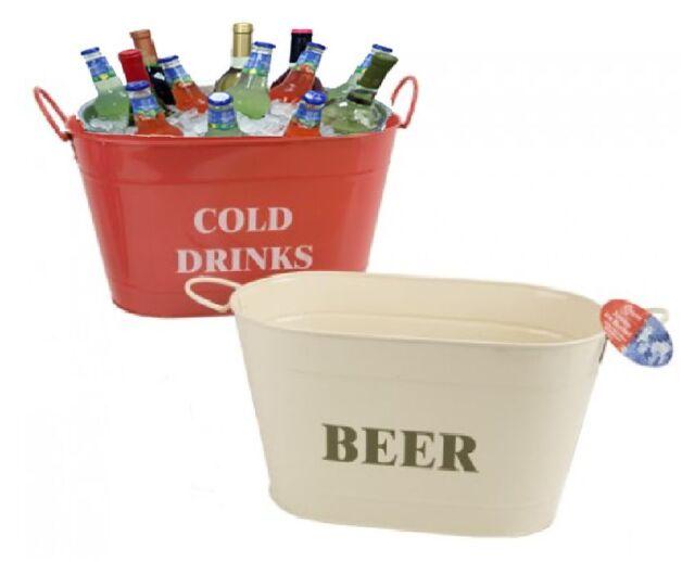 Giant Large Half Metre Beer / Cold Drinks / Wine Bottle Metal Ice Bucket Cooler