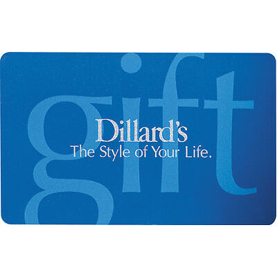 $50 Dillard's Gift Card - Mail Delivery