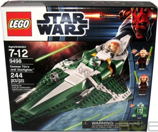 2012 LEGO Star Wars #9498 Saesee Tinn's Jedi Starfighter MISB New Sealed