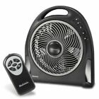 Holmes Hapf 624R-UC 12 Blizzard Remote Control Power Fan Plastic Oscillating