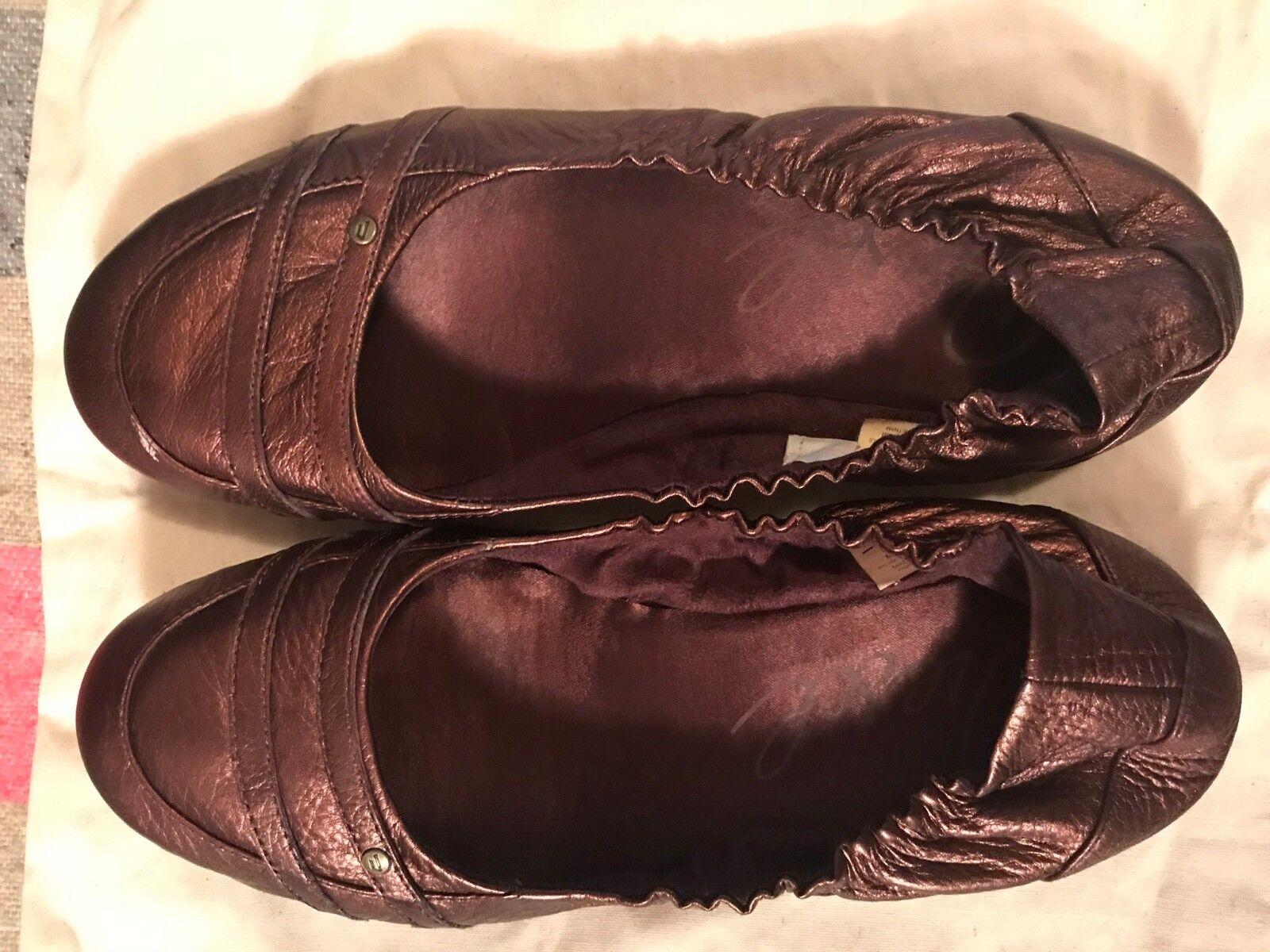 Zapatos Diesel 7.5 'Heather' pisos púrpuraa Uva Talla 7.5 Diesel 38 90f78f