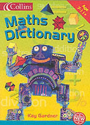 (Very Good)-KS2 Maths Dictionary (Paperback)-Kay Gardner-0007130597