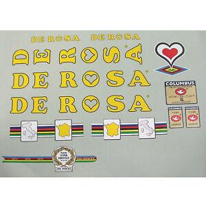 De Rosa Derosa mid 80s Team set Choice of three color arrangements
