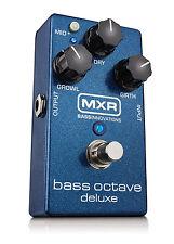 MXR M288 Bass Octave Deluxe Bass Guitar Effects Pedal!