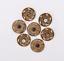 10X-Western-3D-Flower-Turquoise-Conchos-For-Leather-Craft-Bag-Belt-Purse-Decor miniature 35