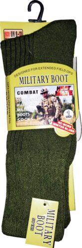 NUOVA linea uomo 2.3 Tog Termico all/'aperto Caldo Lavoro Militare Marines Calze Stivale Taglia 6-11