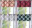 1PC-VALANCE-Geometric-Design-Blackout-Lined-Window-Curtain-Grommet-Panel-MOZA thumbnail 1