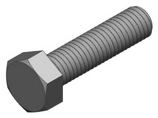 20x Ezystrut HEX HEAD SCREWS Zinc Plated SteelAust Brand- M8x20mm Or M8x25mm