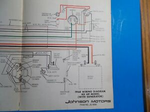 36+ 1967 Johnson Outboard Wiring Diagram PNG