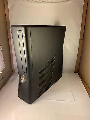Microsoft Xbox 360 S Slim 250GB Matte Black 1439 CONSOLE ...