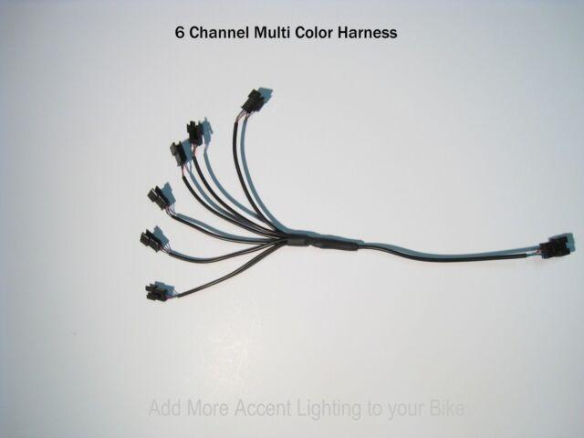 10 Channel LED Multi-Color Accent Light Harness RGB//Strip//Wheel Pod
