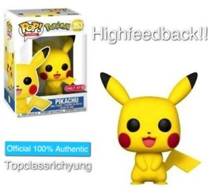 Image Is Loading FUNKO POP POKEMON PIKACHU TARGET EXCLUSIVE PREORDER