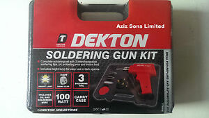 New-Electric-100w-Soldering-Gun-Set-Iron-Kit