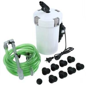 Aquarium Fish Tank External Canister Filter Outside Table ...