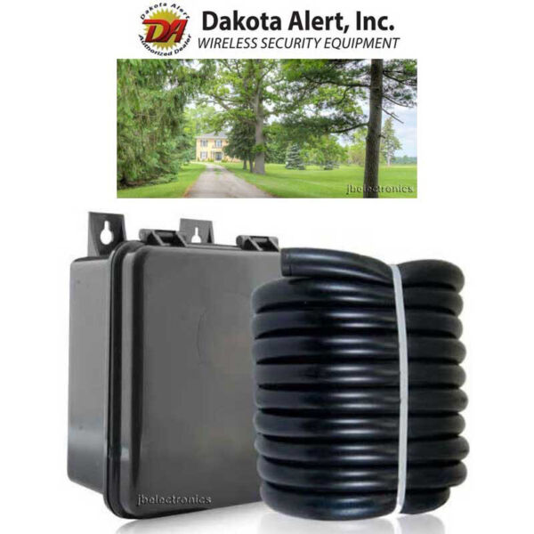 Dakota Alert 25 Feet Replacement Rubber Hose for DCRH-2500 DCHT-2500