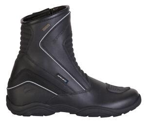 Spada-Spring-Waterproof-MOTORCYCLE-BOOTS-Short-Black