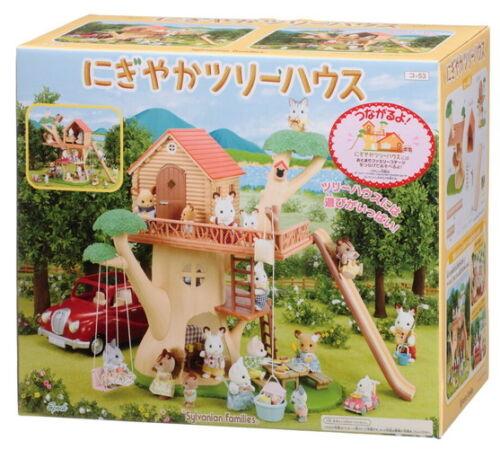 Sylvanian Families Families Trip Series Tree House KO-53 Epoc F/S from Japan