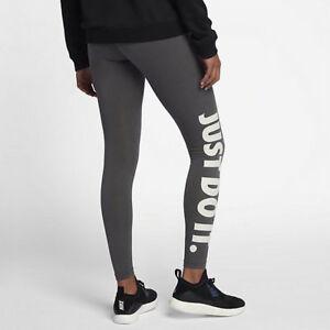 cf57776764c70 LEG-A-SEE JUST DO IT LEGGINGS Nike Sportswear 726085 SIZE S GREEN | eBay