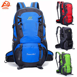 40L-Sport-Backpack-Outdoor-Hiking-Luggage-Travel-Rucksack-Bag-Daypack-Waterproof