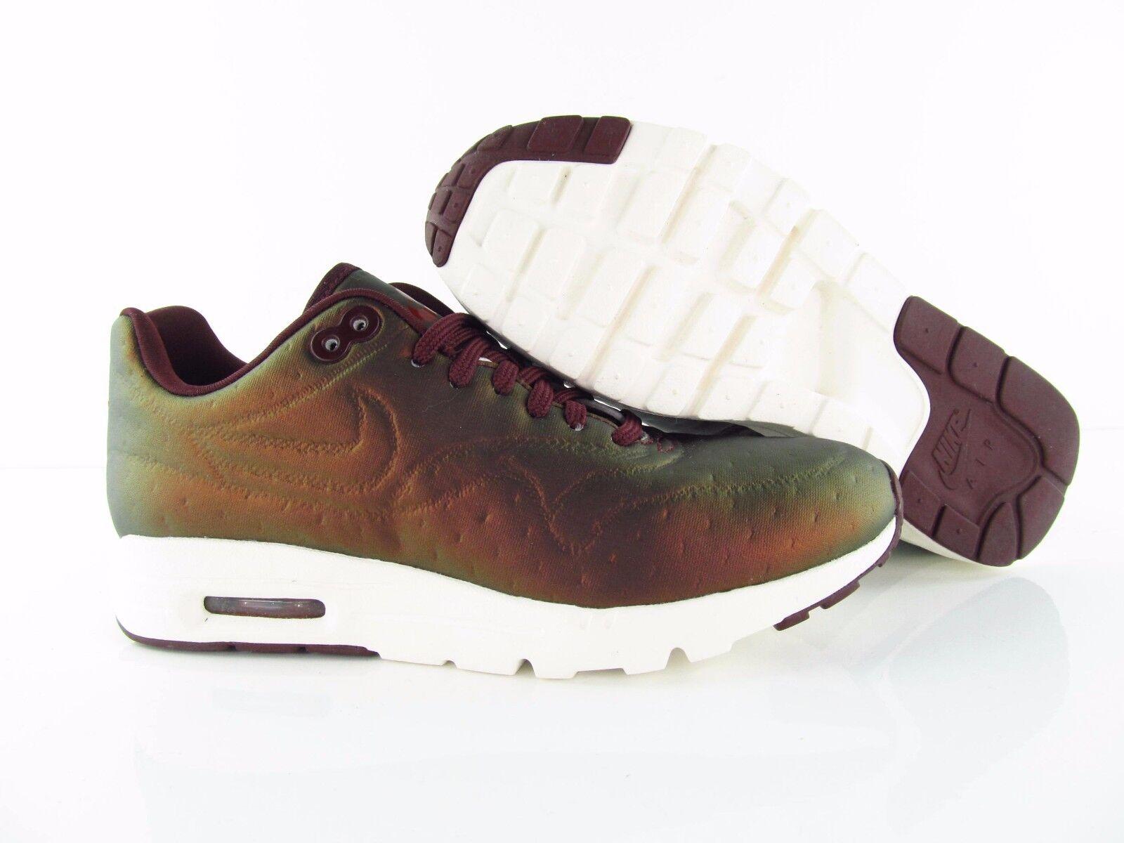 Nike Wmns Air Max 1 Ultra Ultra 1 Premium Jacquard Metallic Mahogany US_7  Eur 38 0f7e0b