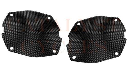 FLHX Flat Speaker Grills HAWG WIRED Steel Mesh Speaker Grills for Harley FLHT