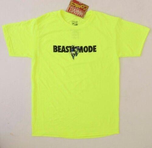 "Marvel Comics /""Beast Mode/"" Kids Boys 100/% Polyester T-Shirt Size MD NWT"
