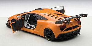 Autoart 2013 Lamborghini Gallardo Gt3 Fl2 Orange Métal Composite 0.1cm Stok