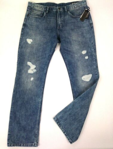 basique David skinny Jean Bitton endommag X Ash Buffalo g51qp