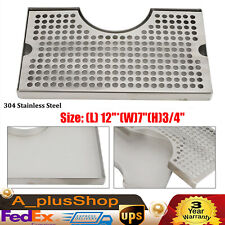 Draft Drip Tray Beer Stainless Steel Kitchen Glass Rinser Tray Removable 127